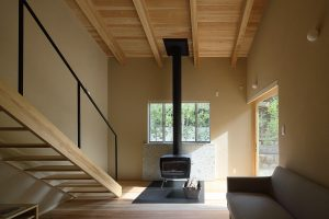 陽だまりと木の家 薪ストーブ