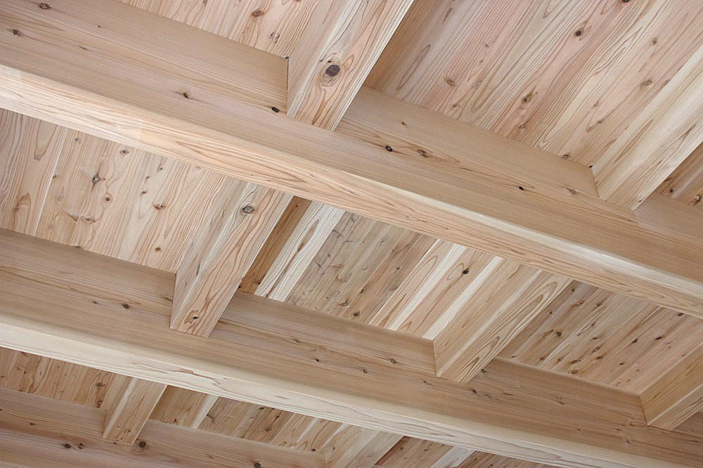 緑台 新築注文住宅 木の家の天井