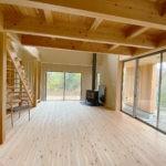 緑台 新築注文住宅 木の家の質感が心地よい空間